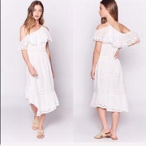 NEW • Joie • Corynn Eyelet Dress Porcelain White